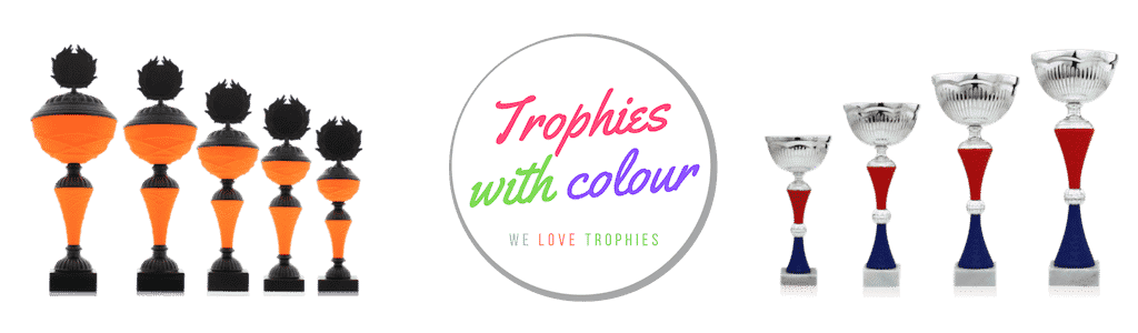 Pokale mit Farbe - Trophies with color